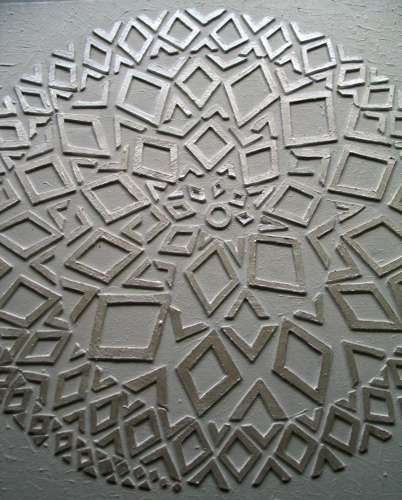 diamond spiral grid | dale simone roberts